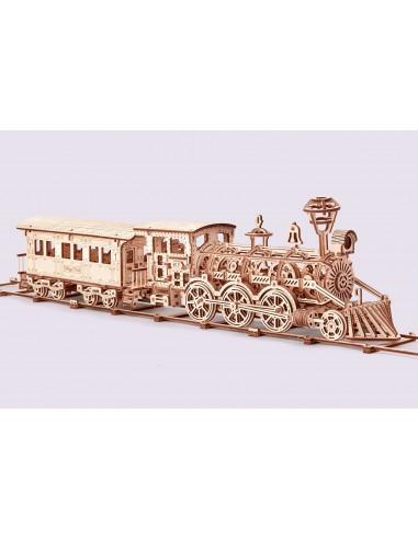 Puzzle de Madera 3D - Locomotora R17