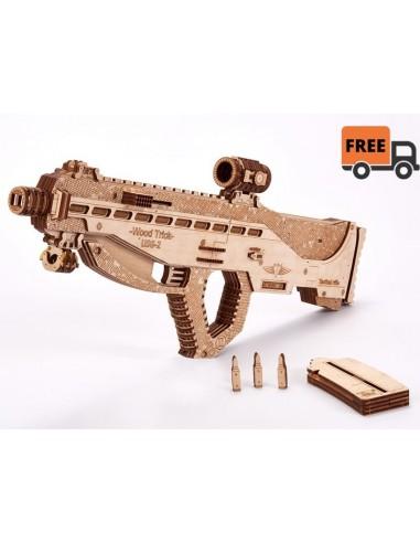 Puzzle de Madera 3D - Arma de Asalto...