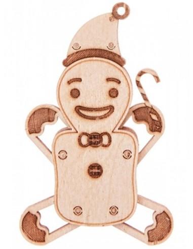 Puzzle Madera - Gingerbread man