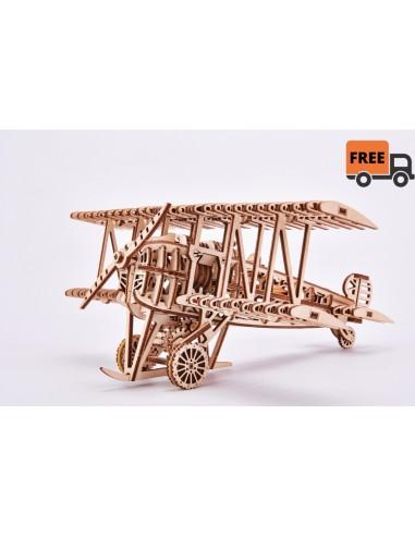 Puzzle de Madera Avión 3D