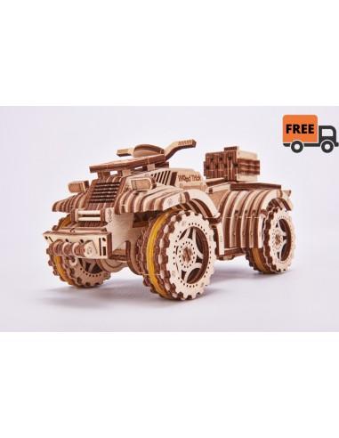 Puzzle madera 3D - Quad